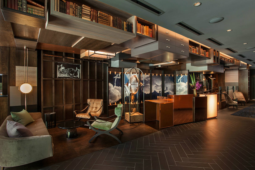 Top hotels interior designs by Rockwell Group