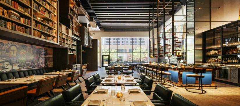 EMC2 Chicago Contemporary hotel lobbies by Rockwell Group