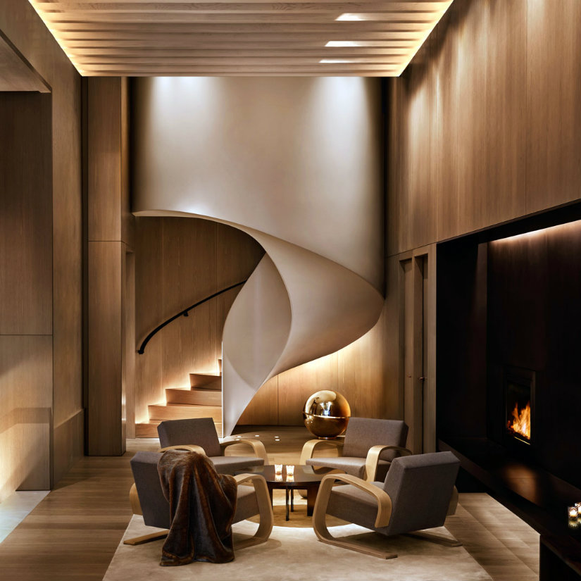Best hotel lobbies interiors - New York Edition by Rockwell Group