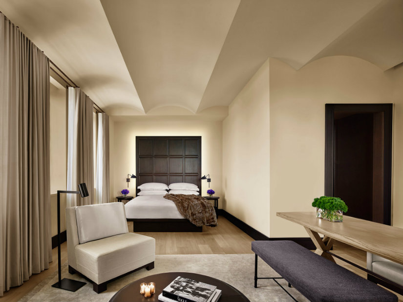 Rockwell best hotel projects New York Edition Hotel
