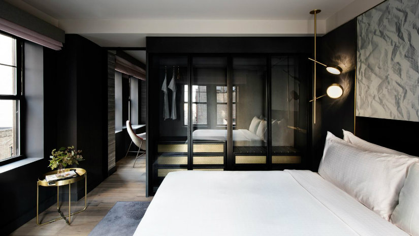 Bedroom hotel design ideas by Rockwell Group