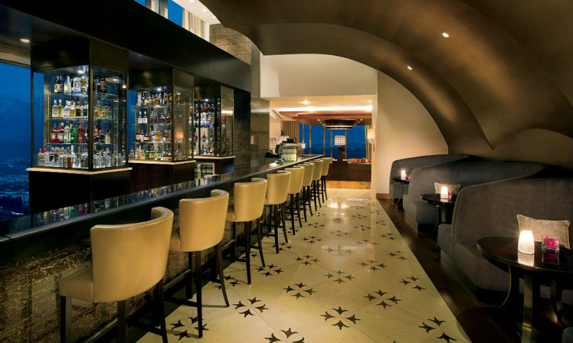 Ritz Carlton Almaty bar decor ideas