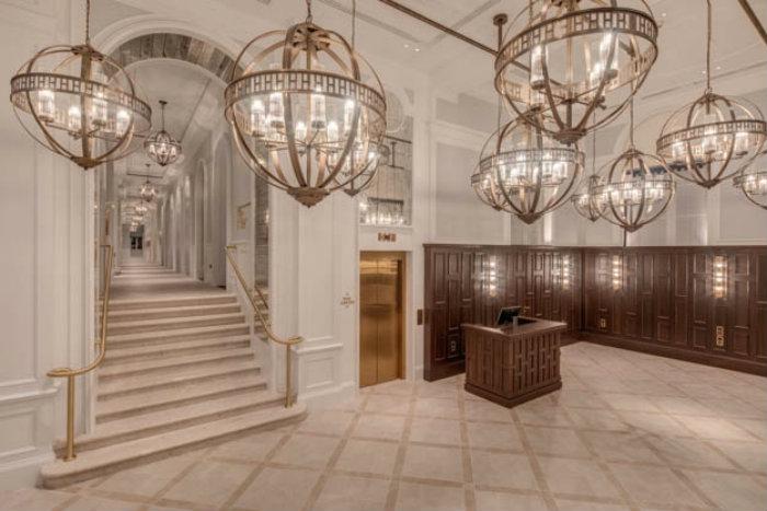 Hotel Lobby Ideas: The golden glam of Hilton Dubrovnik by Goddard Littlefair