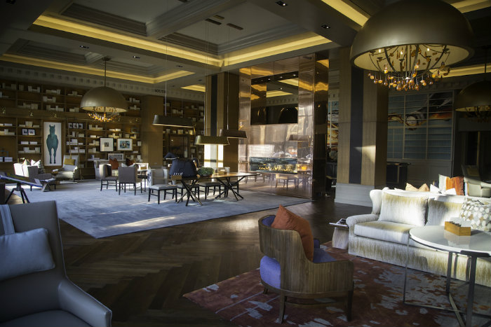 Stunning Luxury Hotel Lobby- The Omni Louisville by Waldrop+Nichols