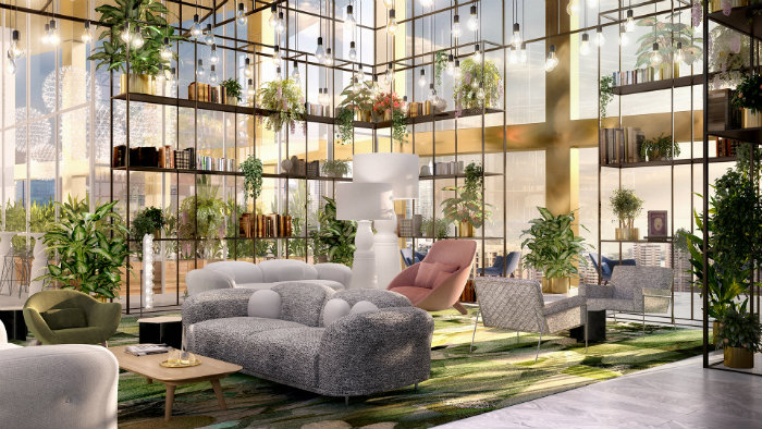 Hotel luxury ideas to steal from Hyde Residential by Wanders & Yoo