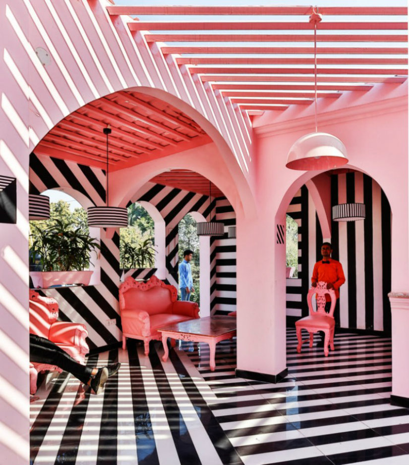 Restaurant Ideas for Luxury Hotel inspired by Wes Anderson