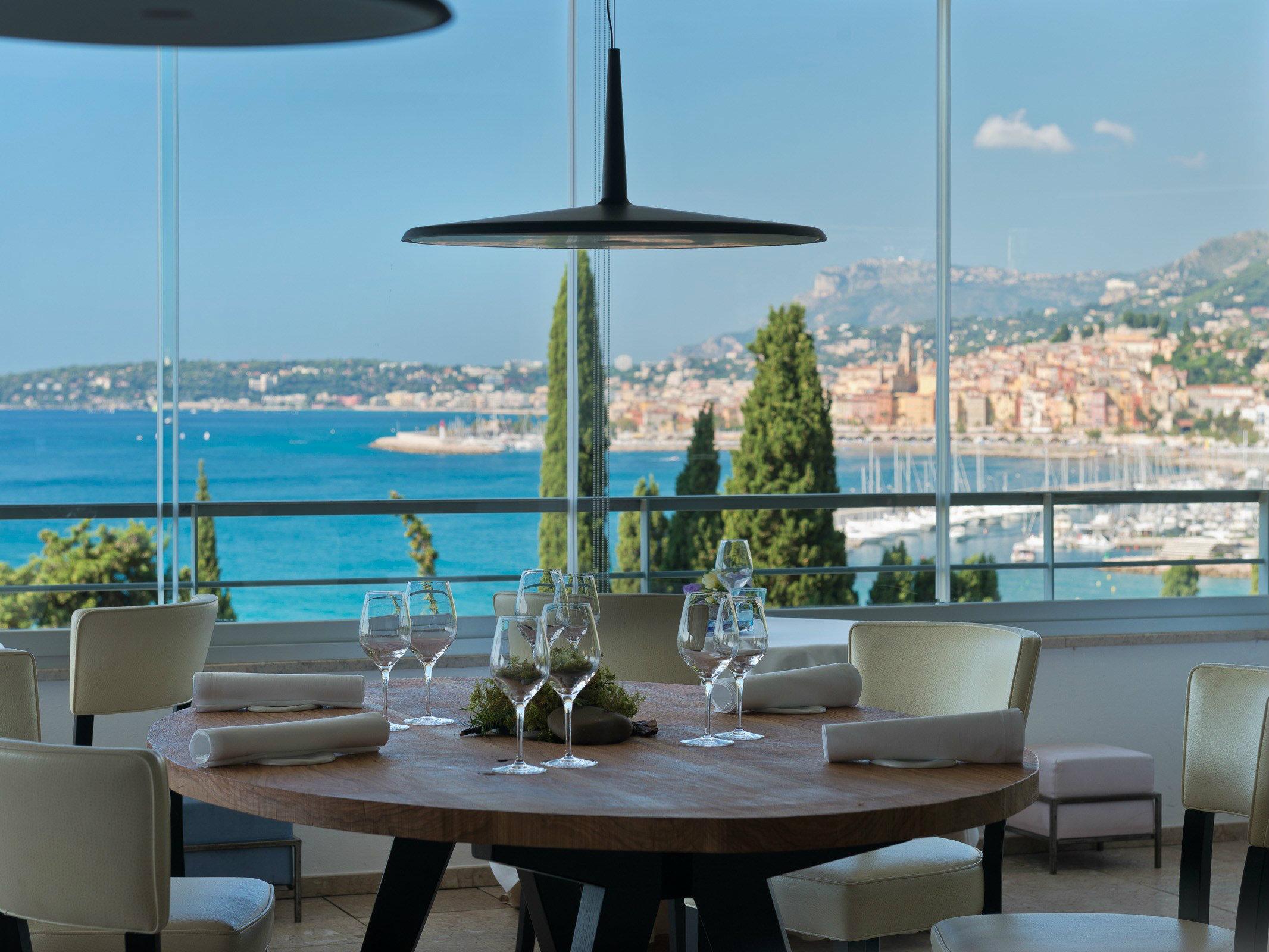 Mirazur modern restaurant design