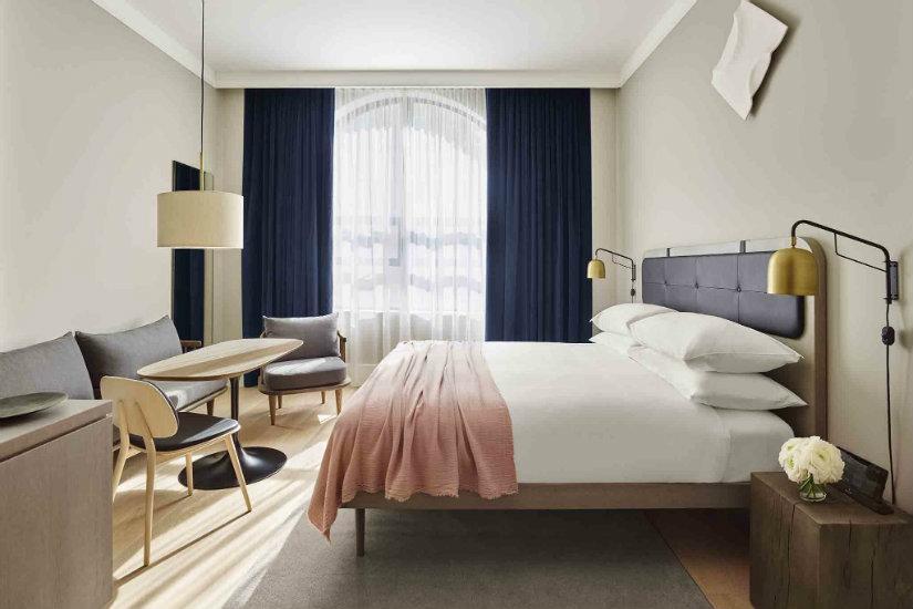 bedroom luxury hotel interior design lounge area