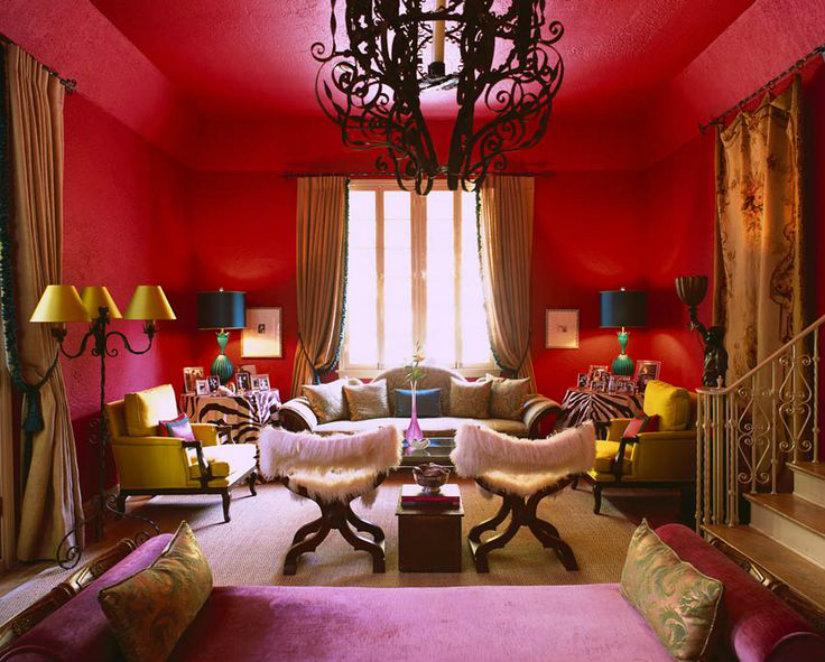 boho syle hotel room design ideas