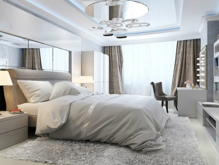 luxury hotel interior design idear for bedroom