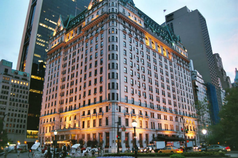luxury hotel lobbies plaza hotel