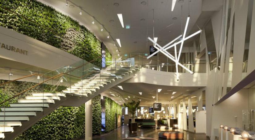 luxury hotel sustainable style