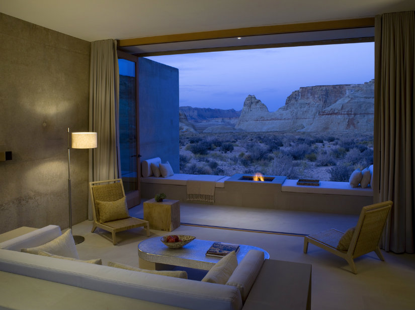 natural light hotel interior design ideas