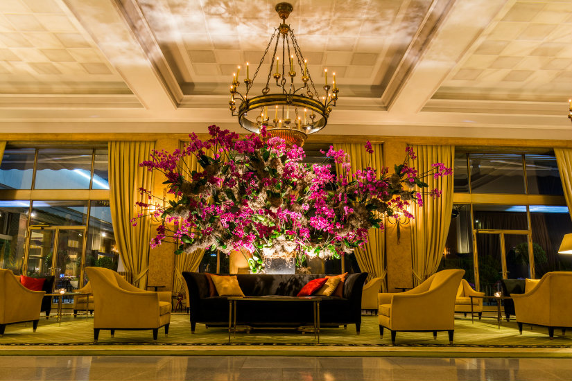 vintage lighting hotel decor 2019