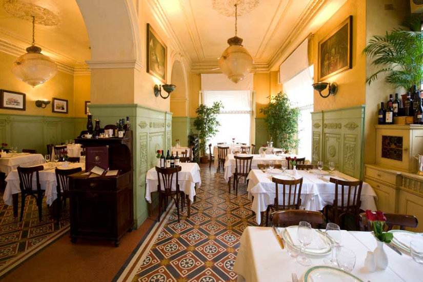 da giacomo luxury restaurant