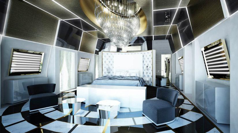 luxury hopitality design high tech