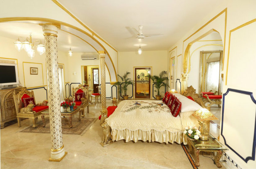 maharaj luxury suite interior design