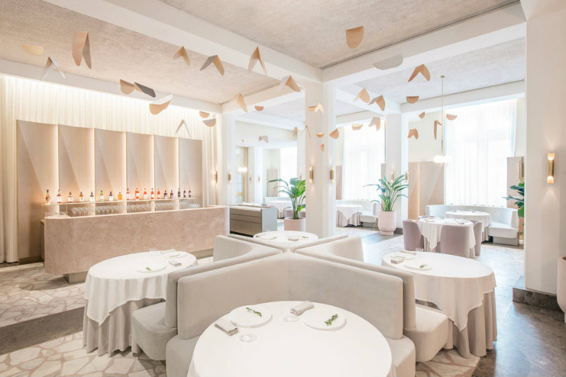 odette luxury interior design restaurant