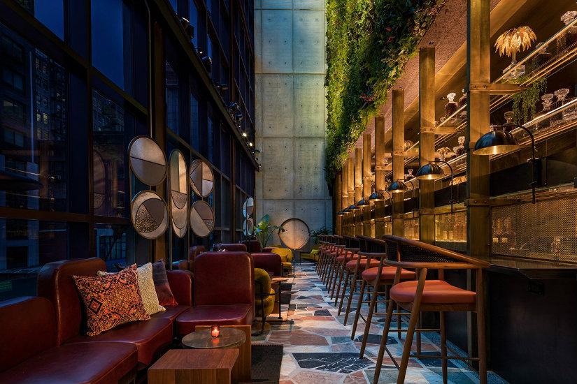 Hotel lounge decor ideas