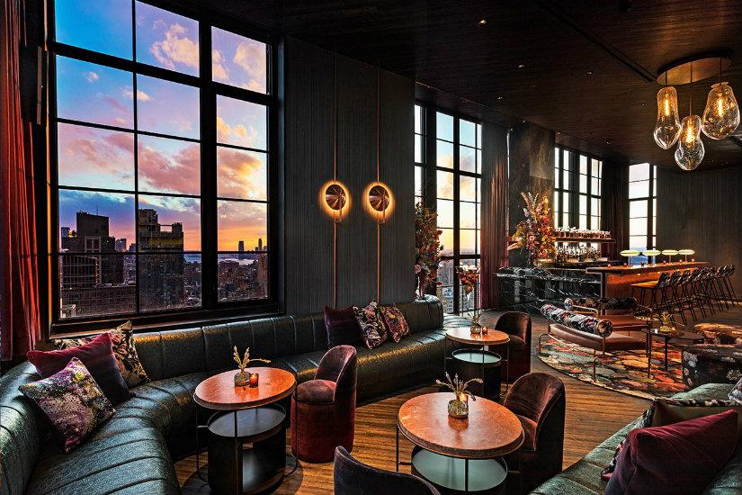 Best New York Rooftop bars Moxy Chelsea