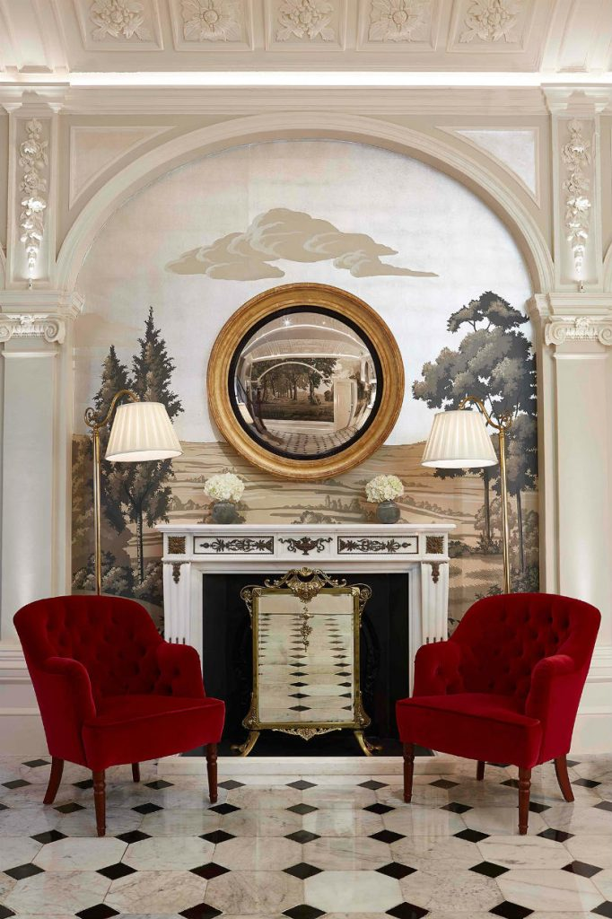 Luxury hotel decor London The Goring