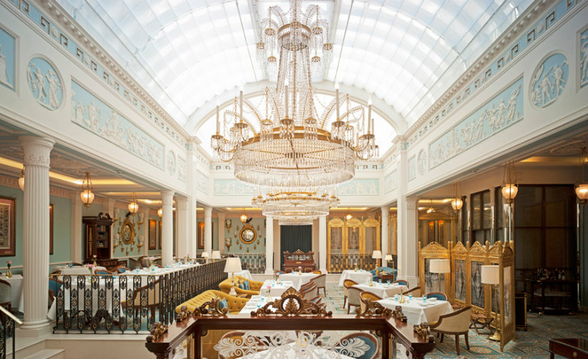 Best London hotels - Lanesborough hotel decor
