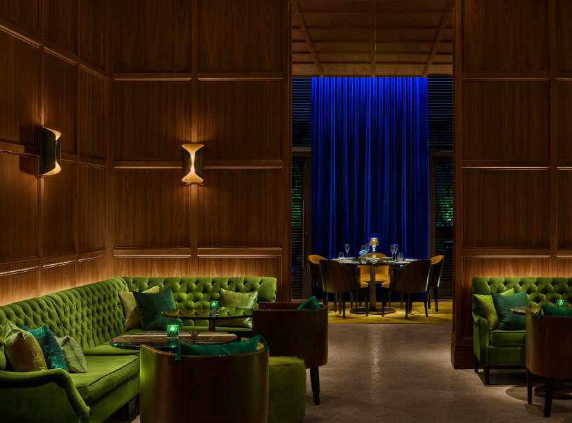 Lounge bar furniture ideas at Times Square Edition Hotel