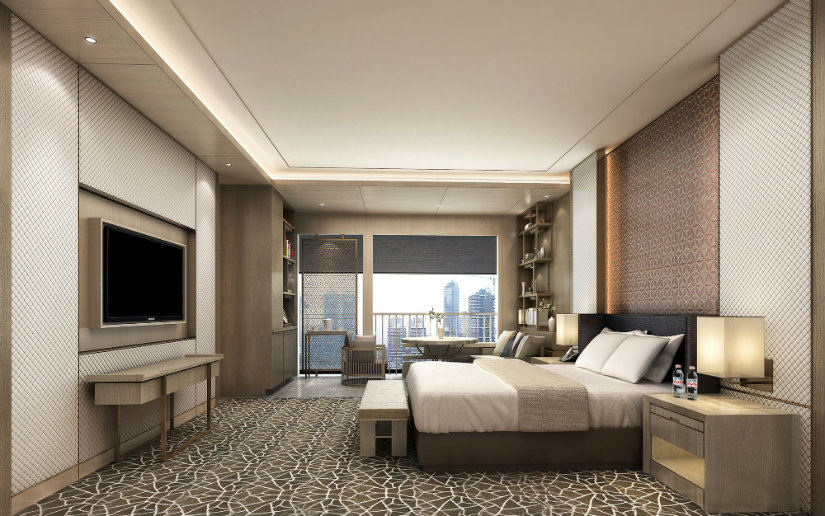 Master bedroom decor ideas at Ritz Carlton